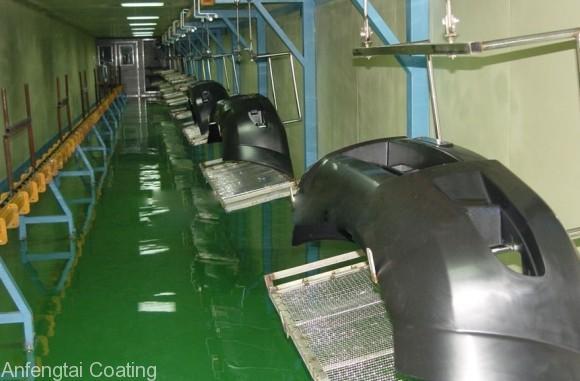 automotive bumper coating line