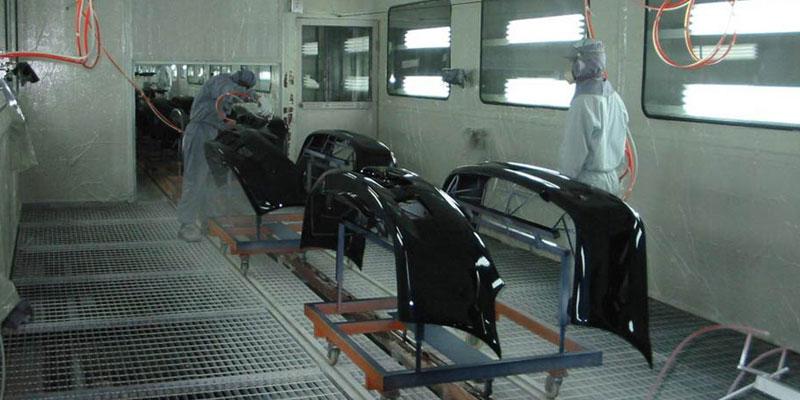 automotive bumper coating