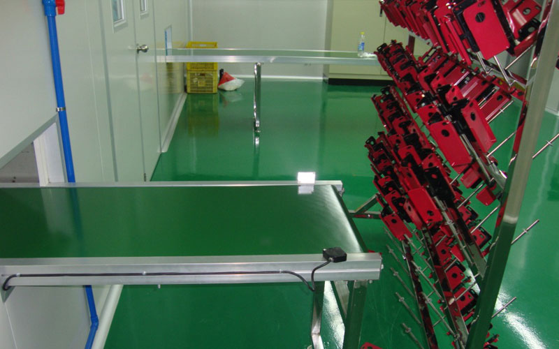 mobile phone case coating line