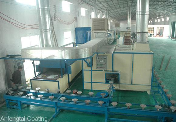 non stick coating line