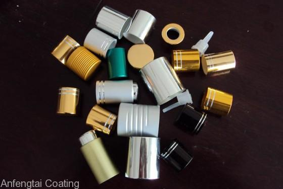 perfume bottle caps coating line