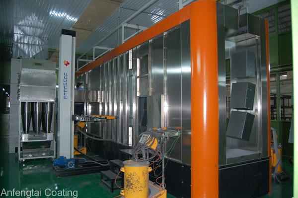 electrostatic coating line