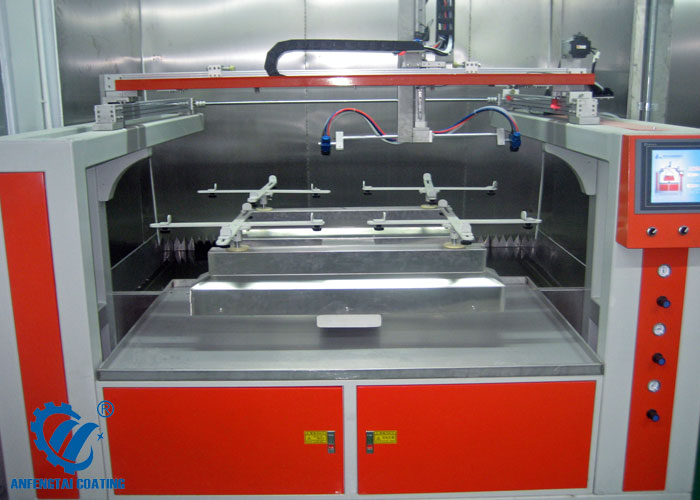 5 axis coating machine 4 trays