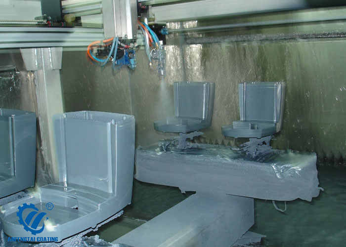 coffee pot robotic coating line