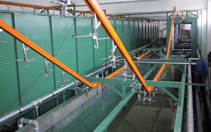 high tech steel wheel e coating line anfengtai coating co ltd