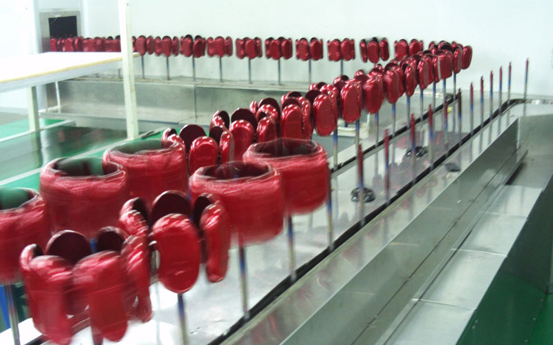 mouse coating line