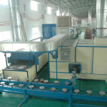 Frypan Spray Coating Line