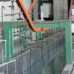 e coating line
